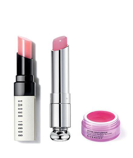 Le rose aux lèvres selon Bobbi Brown, Dior et Givenchy