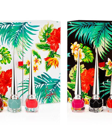 Christian Louboutin's kawai-tropico nail polish