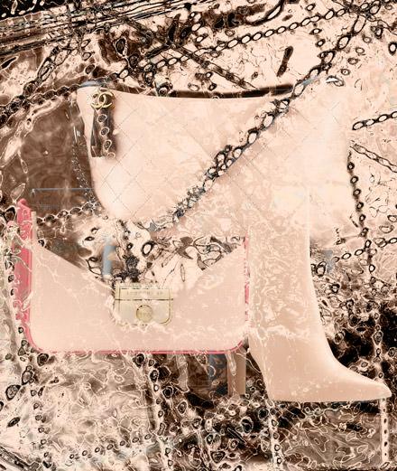 Chanel, Longchamp et Louis Vuitton : découvrez notre sélection d'accessoires black & nude