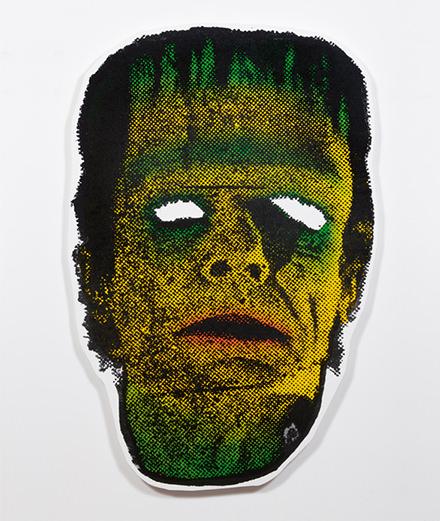 Rencontre avec l'artiste Will Boone, entre jaquettes punk et masques de Frankenstein