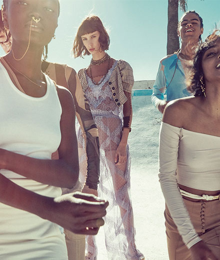 """La série mode """"Pool Party"""" par Sofia Sanchez et Mauro Mongiello"""