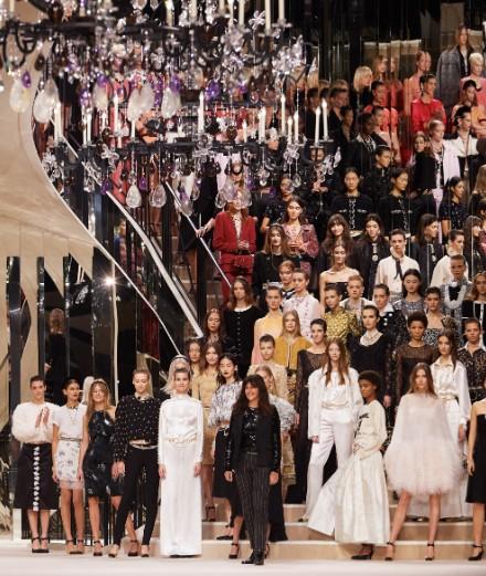 L'exceptionnel défilé Chanel Métiers d'Art 2020 à Paris