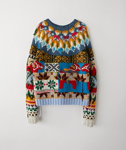 L'objet du jour : le pull de Noël d'Acne Studios