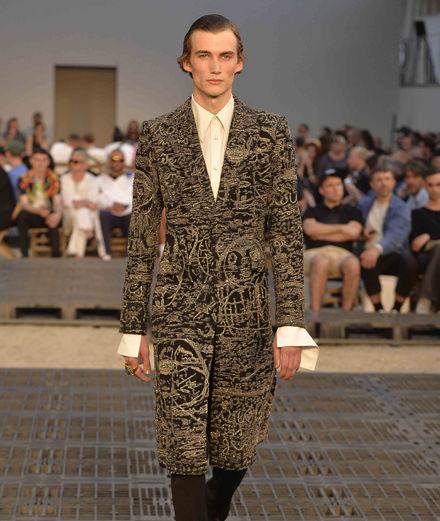 Alexander McQueen men Spring-Summer 2019 fashion show