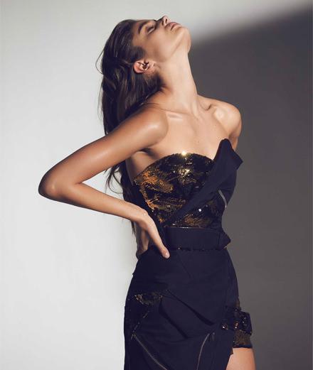 Alexandre Vauthier décline avec brio sa haute couture en prêt-à-porter