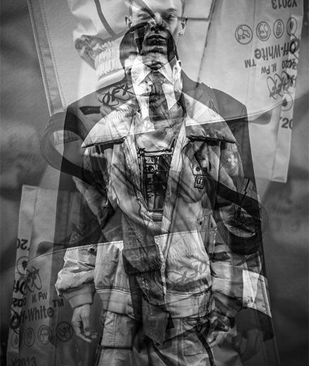Backstage : le défilé Off-White homme automne-hiver 2019-2020 vu par Mehdi Mendas