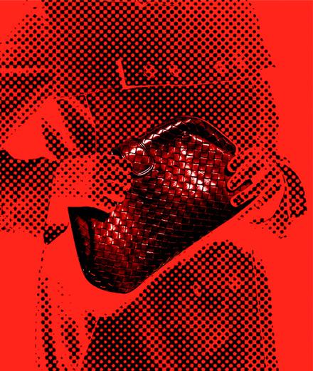 """L'objet fétiche: la pochette """"The Lauren 80"""" de Bottega Veneta"""