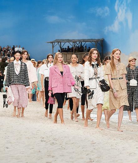 Le défilé Chanel printemps-été 2019