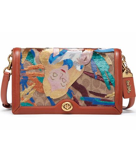 Objet du jour : le sac Alice aux pays des merveilles Coach x Disney