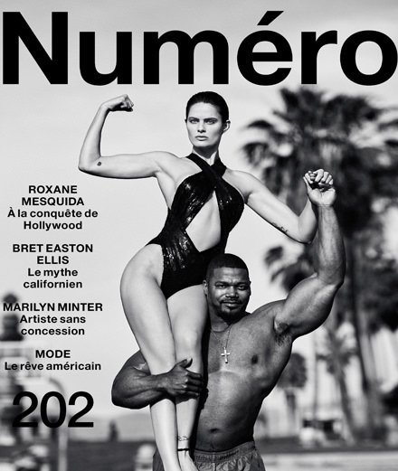 Find out what's in store in April 2019's Numéro with Roxane Mesquida, Bret Easton Ellis, Marilyn Minter…