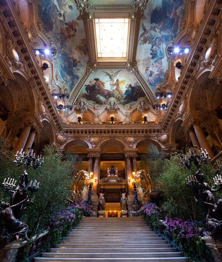 Quelles étaient les célébrités présentes aux 350 ans de l'Opéra de Paris?
