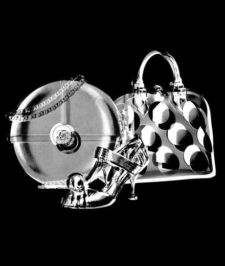 Les accessoires ronds de Prada, Louis Vuitton et Chanel