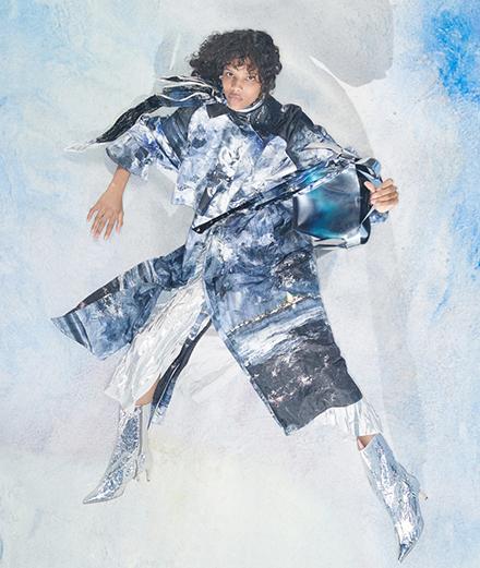 Les peintures de Strindberg envahissent une collection Acne Studios