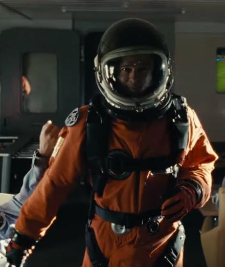 """Brad Pitt décolle pour l'espace dans """"Ad Astra"""""""