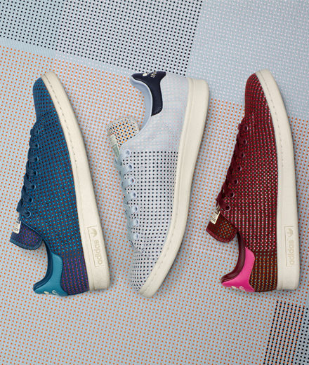 Object of the day: Stan Smiths by Adidas revisited by Kvadrat