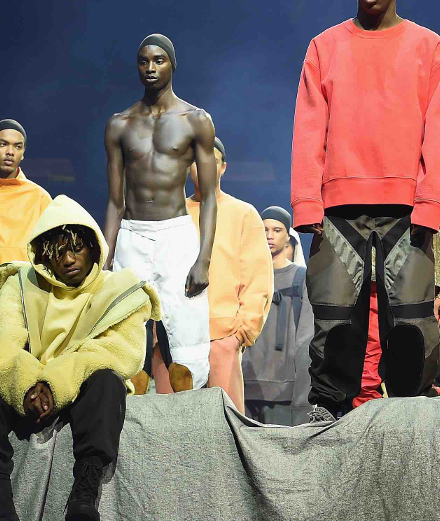Kanye West's Yeezy Season 3 at Madison Square Garden in New York
