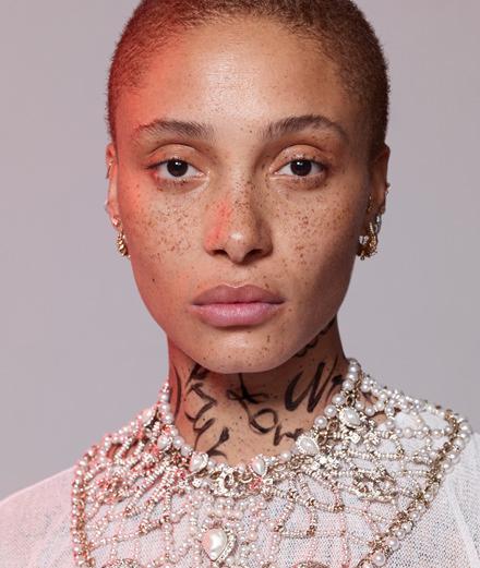 """Sexual abuse is very prominent in Ghana."" Adwoa Aboah, the celebrity model who helps young women"