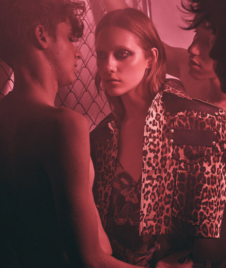 """Exclusive: """"After party"""", a fashion story by Victor Demarchelier"""