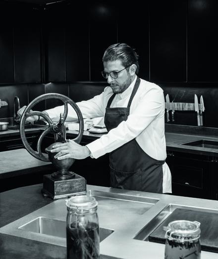 Akrame Benallal, le sculpteur de la cuisine