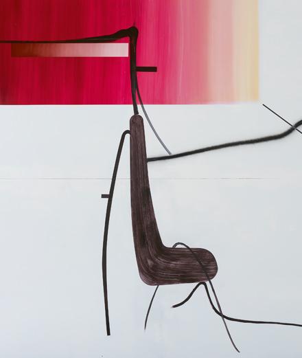 Albert Oehlen, le peintre de la pop culture exposé au Palazzo Grassi de Venise