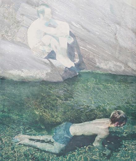 Plongez dans les paysages liquides d'Alexandre Lenoir à la galerie Almine Rech