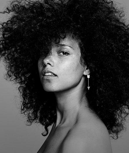 Alicia Keys fait son retour… en roller