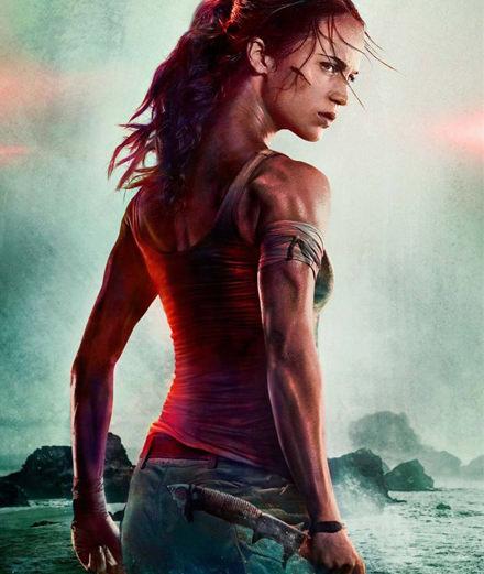 Alicia Vikander, the new Lara Croft