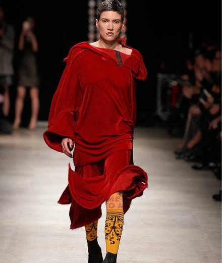 Andreas Kronthaler's runway show for Vivienne Westwood fall-winter 2016-2017