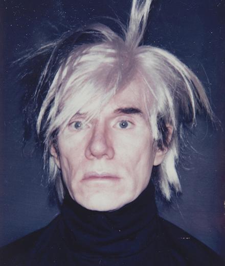 Les perruques d'Andy Warhol voyagent en Europe pour la première fois