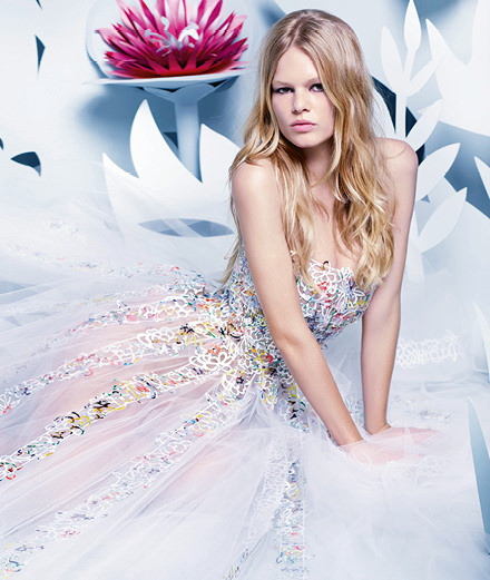 Anna Ewers, model of the year 2015 by Karl Lagerfeld for Numéro