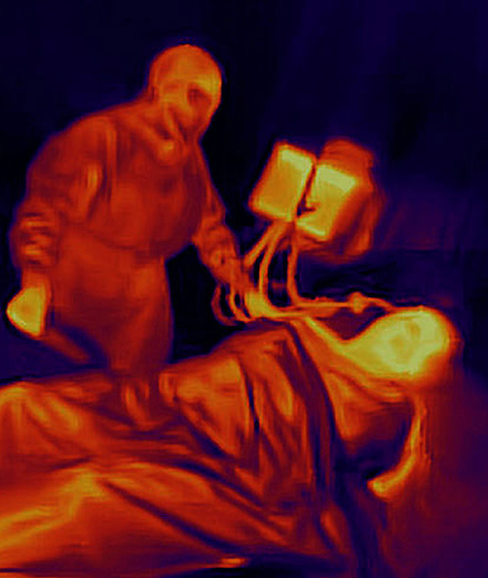 Antoine d'Agata capture la fièvre en vision thermique