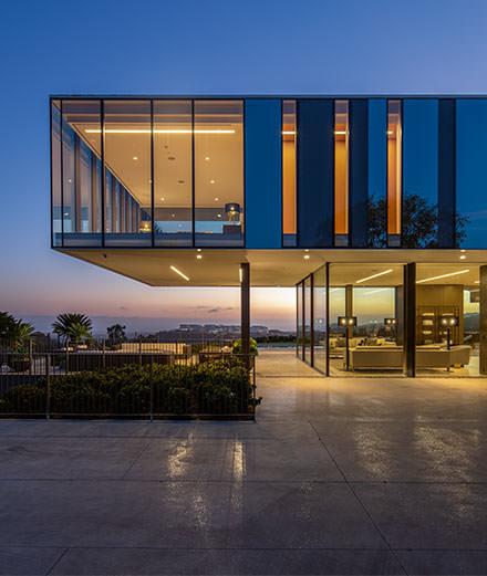 La Orum Residence, l'ovni qui surplombe Los Angeles
