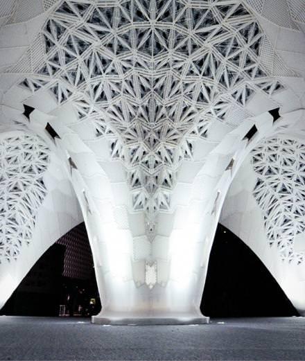 Vers le futur : le plus grand pavillon réalisé en impression 3D