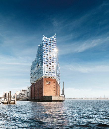 What will the Elbe Philharmonic Hall of Hamburg look like?
