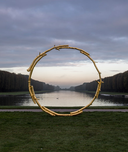 Contemporary art invades the gardens at the Château de Versailles