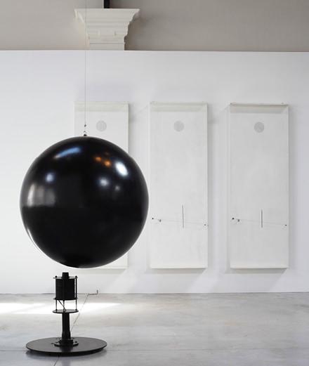 Prouvé-Takis at Brussels' Patinoire Royale, utopian exhibition