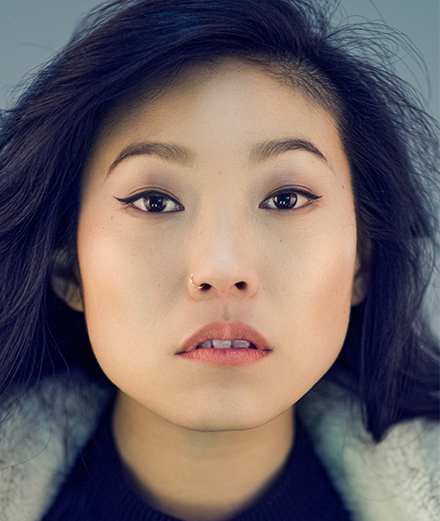 Awkwafina, the New York rapper who broke into Hollywood