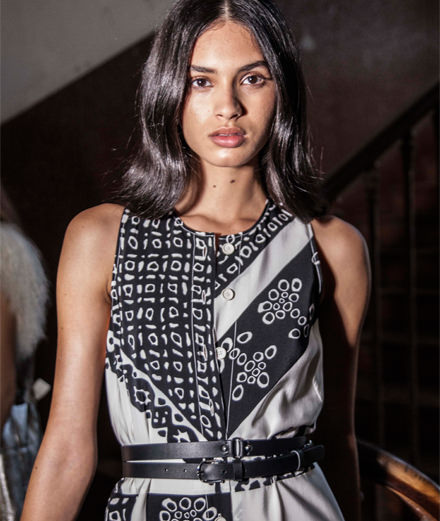 Backstage : Altuzarra spring-summer 2018 fashion show by Mehdi Mendas