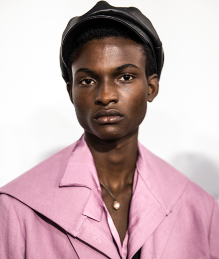 Backstage: Ann Demeulemeester Men Spring-Summer 2020 fashion show seen by Mehdi Mendas