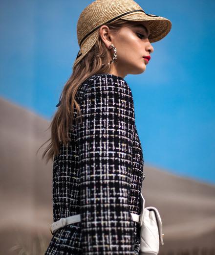 Le défilé Chanel printemps-été 2019 vu par Mehdi Mendas