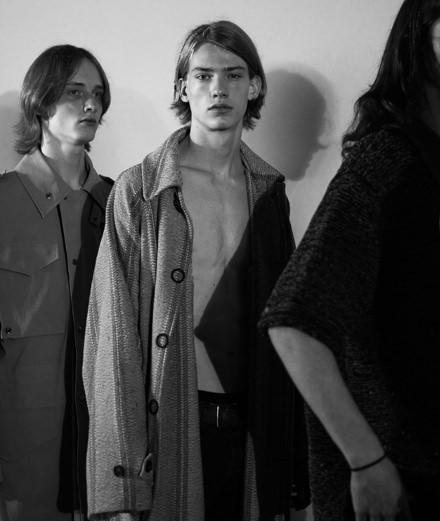Backstage: Acne men spring-summer 2019 fashion show seen by Mehdi Mendas
