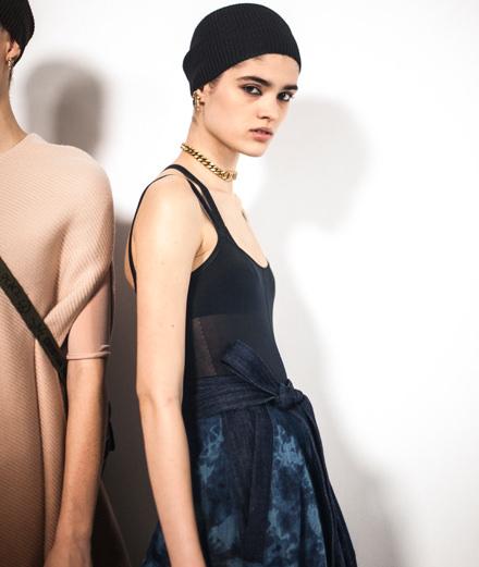 Backstage : le défilé Dior printemps-été 2019 vu par Mehdi Mendas