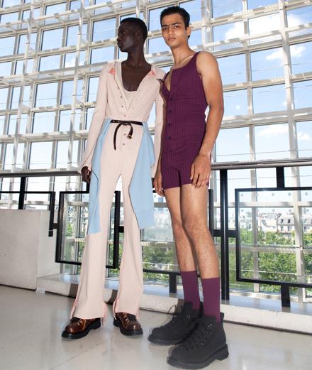 Backstage: Sies Marjan Men Spring-Summer 2020 fashion show seen by Mehdi Mendas