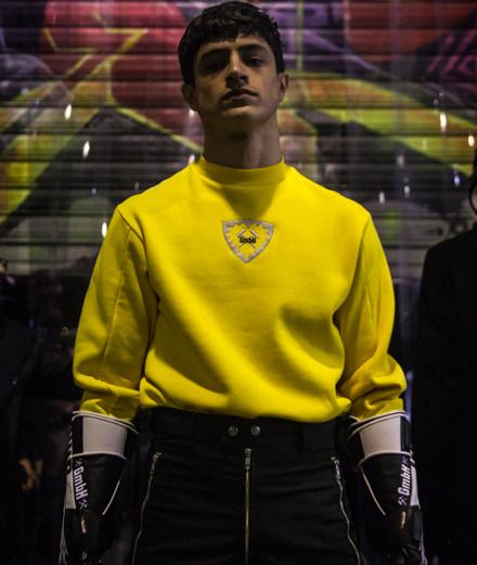 Backstage : le défilé GmbH homme automne-hiver 2018 vu par Mehdi Mendas