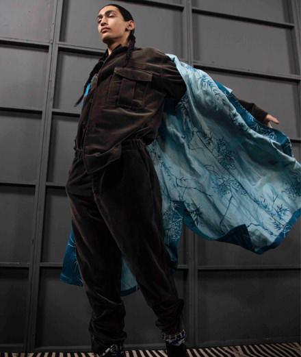 Backstage : le défilé Haider Ackermann homme automne-hiver 2018-2019 vu par Mehdi Mendas