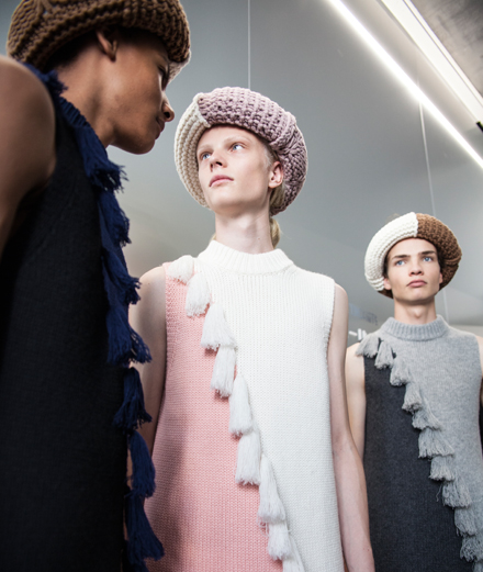 Backstage: JW Anderson Spring-Summer 2020 fashion show seen by Mehdi Mendas