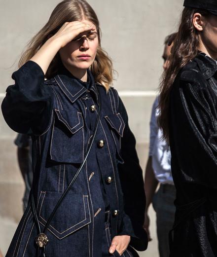Backstage : le défilé Nina Ricci printemps-été 2018 vu par Mehdi Mendas