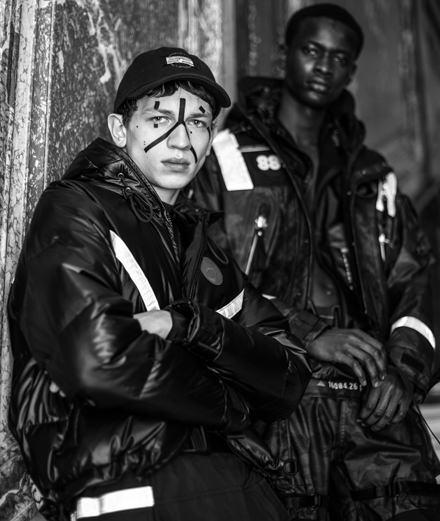 Backstage : le défilé Sankuanz homme automne-hiver 2019-2020 vu par Mehdi Mendas