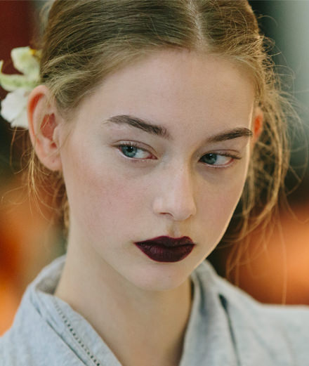 Backstage at Rodarte fall-winter 2016-2017