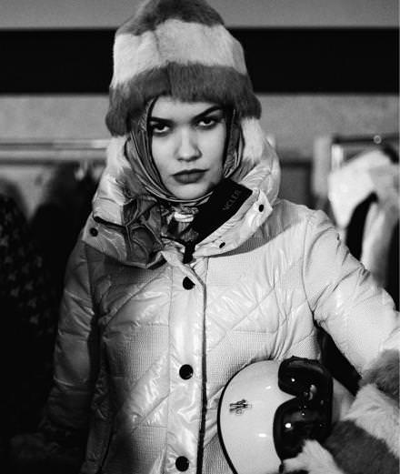 Backstage:  inside Moncler Grenoble fall-winter 2016-2017 runway show